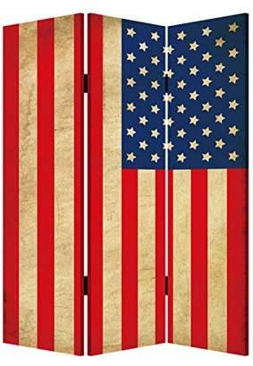 Screen Gems Model American Flag Room Divider
