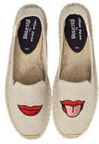 Soludos Women's Lip Embroidered Espadrille