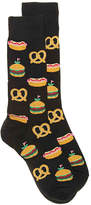 Hot Sox Men's Street Food Men's Dress Socks