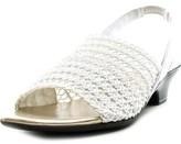 Karen Scott Elmann Open-toe Canvas Slingback Sandal.