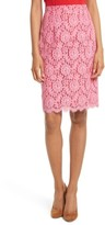 Diane von Furstenberg Women's Lace Pencil Skirt