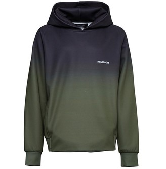 Religion Junior Boys Gradient OTH Hoodie Black/Khaki