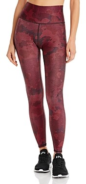 Terez Striped Camo Leggings