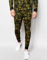 Nike Tech Fleece Skinny Joggers In Green 823499-347