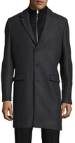 The Kooples Authentic Wool & Cashmere Top Coat