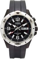 G-Shock G SHOCK Casio Mens Black LED Strap Watch MTD1082-1AV