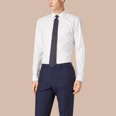 Burberry Modern Fit Double-cuff Cotton Poplin Shirt