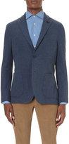 Lardini Regular-fit Single-breasted Cotton Jacket