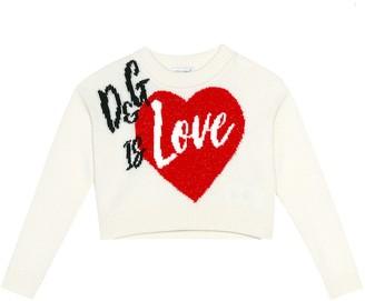 Dolce & Gabbana Is Love sweater