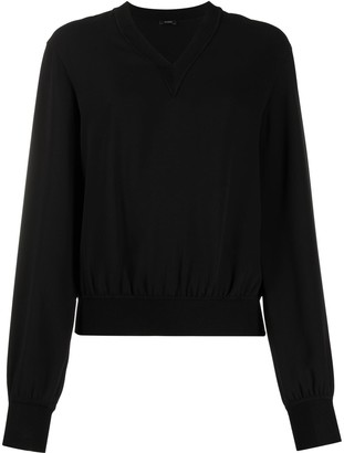 Joseph V-neck sweatshirt