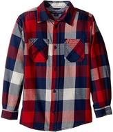 Tommy Hilfiger Ansel Long Sleeve Shirt (Toddler/Little Kids)