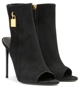Tom Ford Embellished Suede Ankle Boots