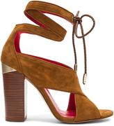 Pura Lopez Ankle Wrap Heel