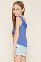 Forever 21 Girls Fringe-Back Top (Kids)