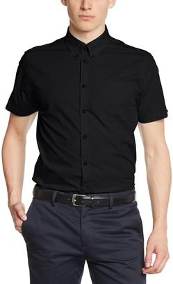 Merc of London Men's Baxter Shirt Short Sleeve Dress