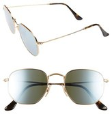 Ray-Ban Men's 51Mm Sunglasses - Gold Green