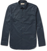 Burberry - Slim-fit Printed Cotton Shirt
