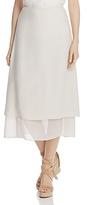 Eileen Fisher Layered A-Line Skirt