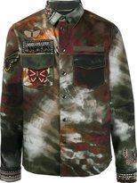 Valentino 'Tie&Dye Jamaica Butterflies' shirt jacket