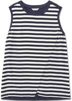 Nautica Striped Tiered Top