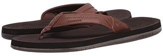 Quiksilver Coastal Oasis Deluxe (Brown/Brown/Brown 2) Men's Sandals