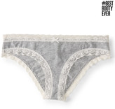 #BESTBOOTYEVER Lace-Leg Cheeky Hipster