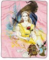 Belle Disney Beauty and the Beast Dreaming Double Sided Cloud Blanket - 40 inch x 50 inch. Luxuriously Soft and Warm