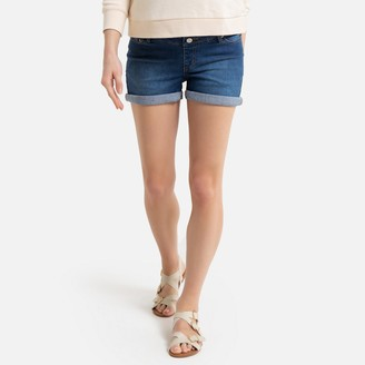 La Redoute Collections Denim Maternity Shorts