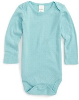 Infant Girl's Mini Boden Supersoft Pointelle Bodysuit