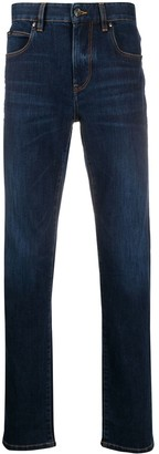 Ermenegildo Zegna Mid Rise Slim-Fit Jeans