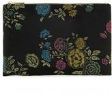 Forever 21 FOREVER 21+ Floral Brocade Clutch