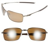 Oakley Men's 60Mm Polarized Sunglasses - Tungsten