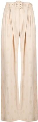 Zimmermann Lovestruck polka dot trousers