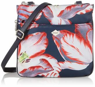 Oilily Mvz Women's Picnic Shoulder Bag 7 x 24 x 25 cm Blue Size: One size