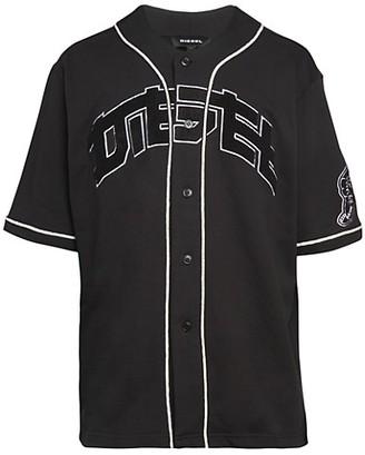 Diesel S-Kaede Cotton Baseball Shirt