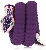 Tamara Donalli Clea Blueberry Snake Wrap Bracelet