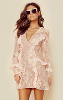 For love and lemons bumble long sleeve ruffle dress