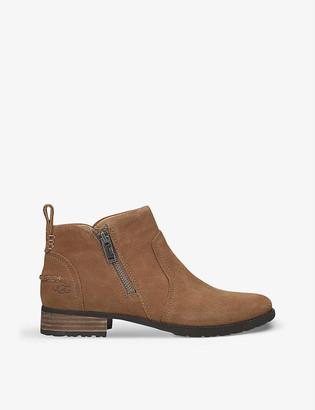 UGG Aureo II waterproof nubuck leather ankle boots