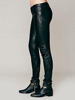 Free People Etienne Marcel Marcel Leather Pant