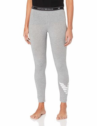 Emporio Armani Women's Iconic Logoband Cropped Leggings