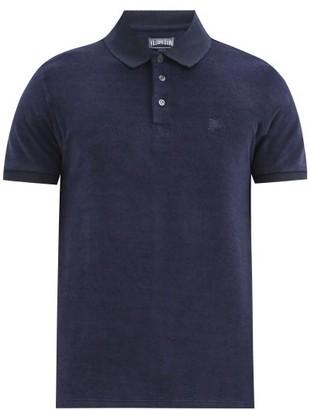 Vilebrequin Terry-cloth Cotton-blend Polo Shirt - Navy