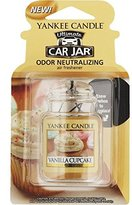 Yankee Candle Car Air Freshener-VANILLA CUPCAKE CAR JAR
