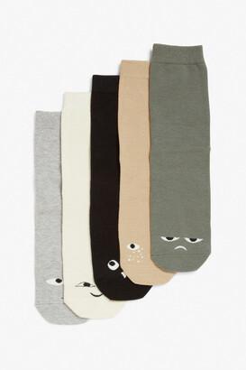 Monki 5-pack socks