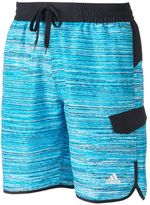 adidas Men's TV Noise Microfiber Volley Swim Trunks