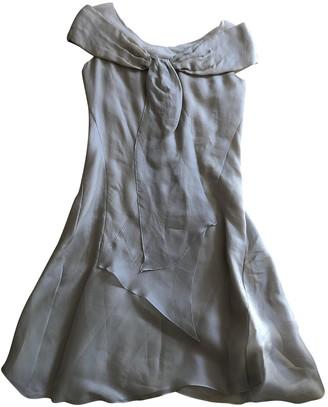 Nina Ricci Ecru Silk Dresses
