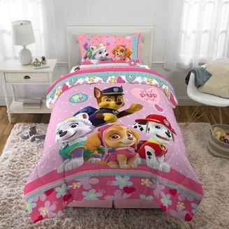 Nickelodeon Paw Patrol Girl Best Pup Pals Bed in Bag Bedding Set