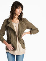Lucky Brand Asymmetrical Military Jacket