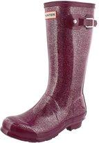 Hunter Boots Girls' Original Kids Glitter Rain Boot 4 M US