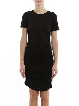 MICHAEL Michael Kors Logo Stripe Short Dress