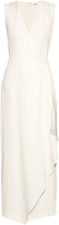 ADAM by Adam Lippes Sleeveless V-neck crepe dress